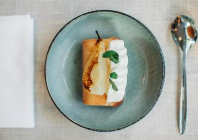 ventelon nicolas restaurant cote saisons laroque des alberes bib michelin baba poire terroir